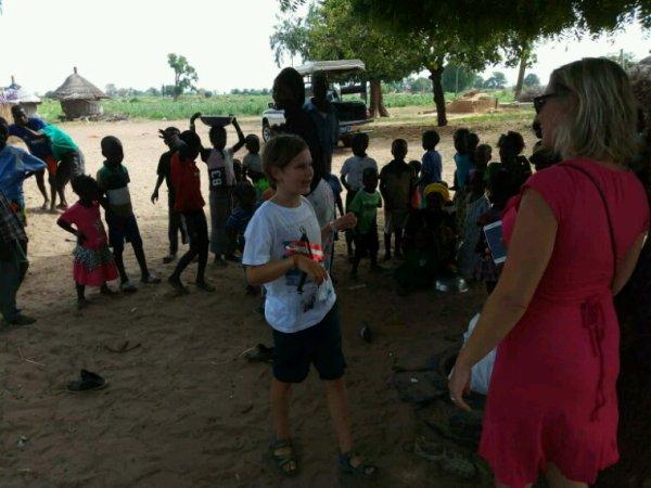 Une belle matinée de decouverte avec nos amis de Saly merci Carole 2 ème séjour avec Sénégal Excursions