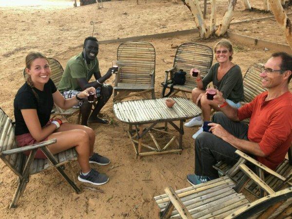 La nuit au désert de lompoul au départ de l'hôtel royal baobab jet tours La Somone,Merci pour votre confiance