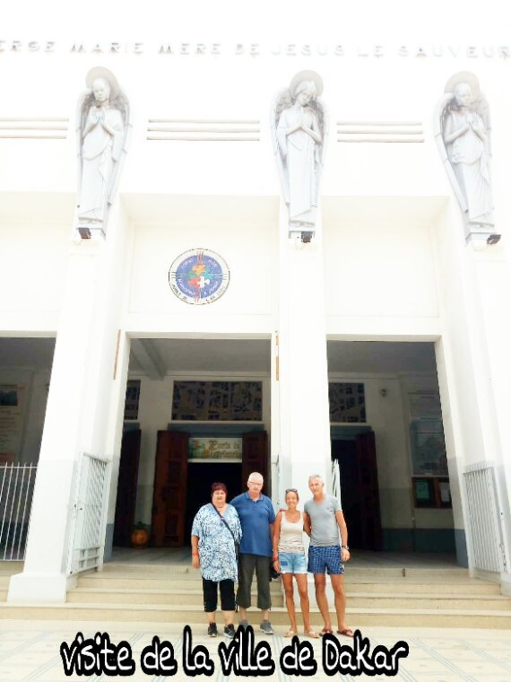 Une belle journée découverte l'île de Goree et de la ville de Dakar avec nos amis du Royal Baobab Hotel à la Somone,