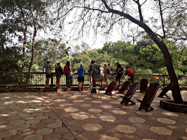 Une belle matinée à la réserve de bandia avec nos amis de la Somone.