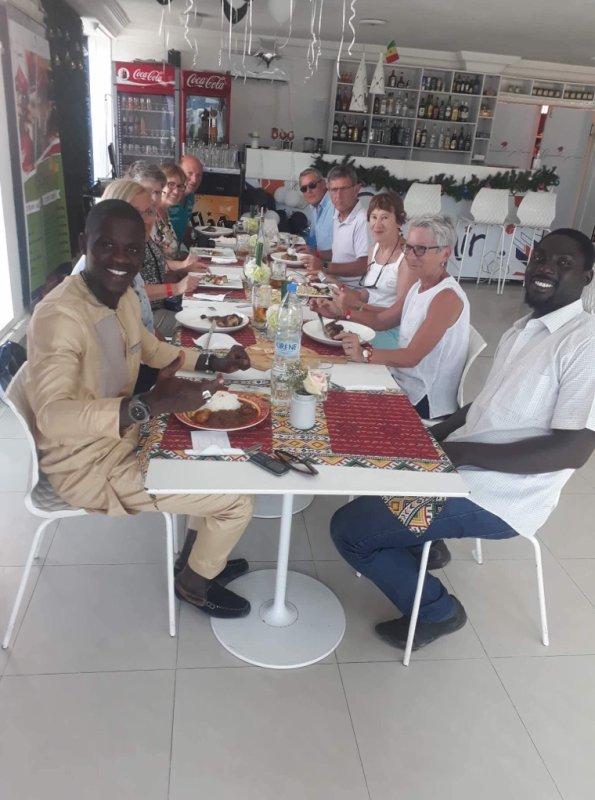 Journée découverte de la ville de Dakar. Merci à nos amis du Royal baobab au Sénégal