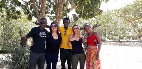 Une belle journée au lac rose et sur l'île de Goree avec nos amis de l'hôtel le Saly hôtel qui nous ont fait confiance.