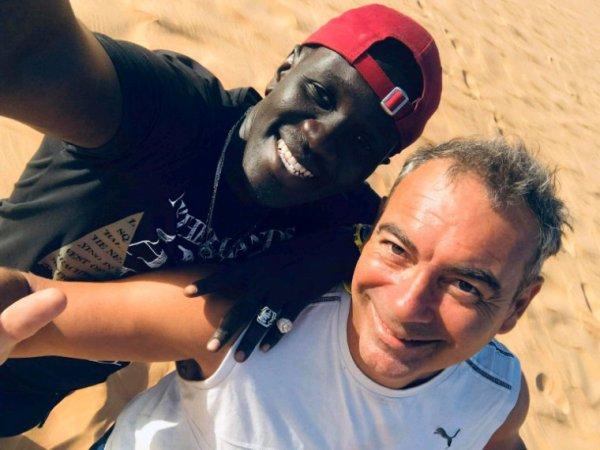 Avec la famille Baudin au désert de Lompoul merci pour votre confiance à nos cher amis de Toulon qui nous font confiance chaque année.