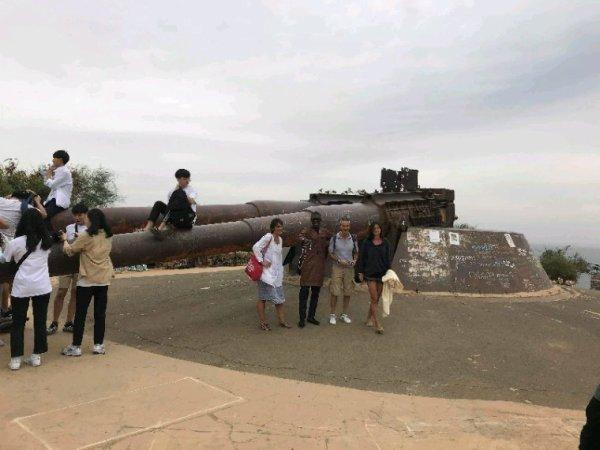 Nos excursions sur l'île de Goree au Sénégal avec nos amis de l'hôtel le lamantin beach à Saly