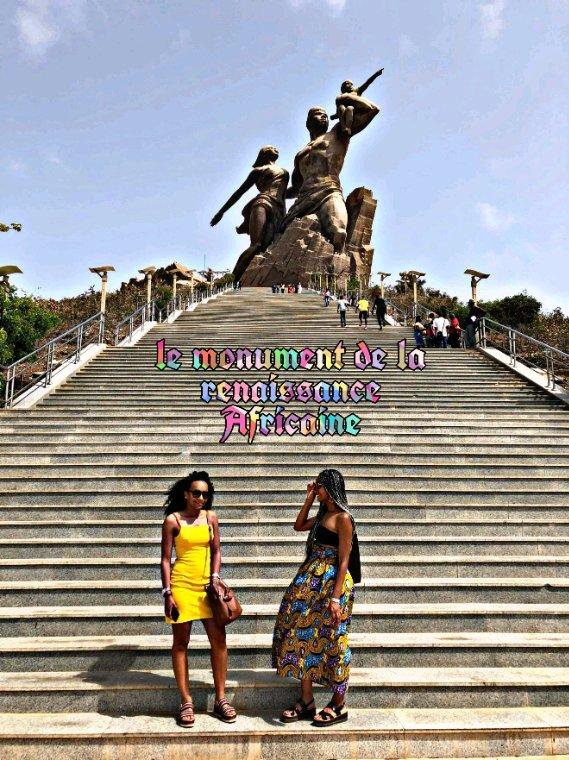 Île de Gorée et la visite de Dakar au depart du palm beach hotel à  saly. Merci les filles pour votre confiance