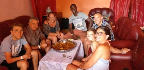 Séjour au Sénégal en famille avec nos amis du royal baobab au senegal