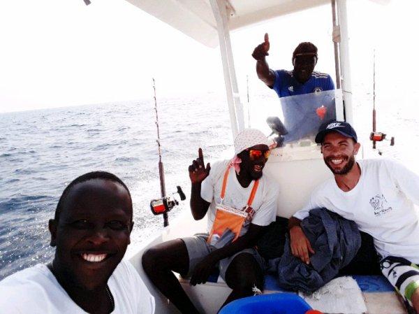 Pêche au gros au Sénégal un belle mâtinée avec senegal excursions pour une belle decouverte du Sénégal