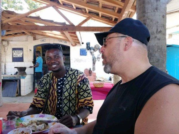 Une belle decouverte du du Sénégal avec nos amis de la résidence dreve des belges a Ngaparou.