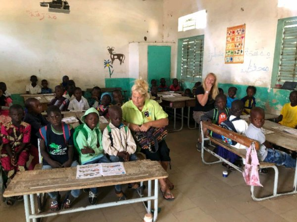 Senegal Excursions un belle journée avec nos amis de l'hôtel palm beach à Saly