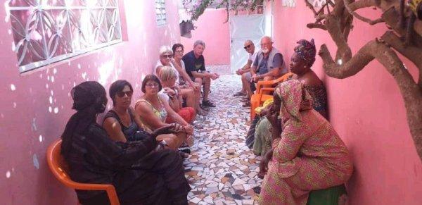 Belle decouverte du Sénégal avec nos amis de pas de calais au royal baobab la somone. Merci pour votre confiance et vivez les meilleurs des excursions au Sénégal