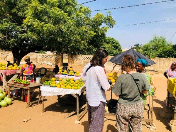 Au départ de Dakar pour une belle decouverte du desert de lompoul