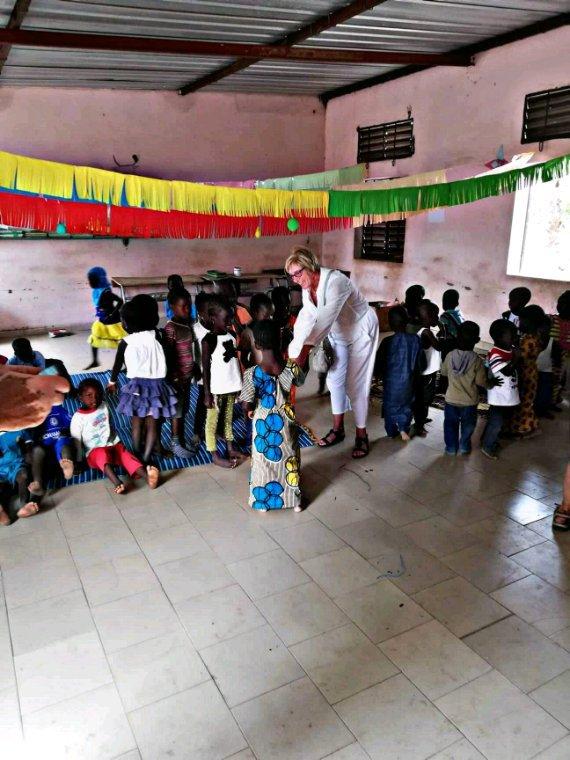 Sénégal excursions au  départ de l'hôtel palm beach.