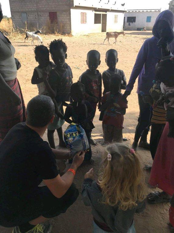 A la découverte des villages peuls et sereres au coeur de la brousse du Sénégal.Merci a nos amis de l'hôtel filaos à Saly