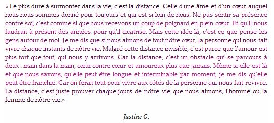 * « ¡ Así es la vida ! » * Justine G. *