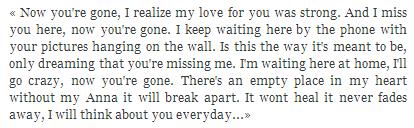 * « Est-ce l'amour qui rend idiot ou n'y a-t-il que les crétins pour tomber amoureux ? »* Guillaume Musso.*
