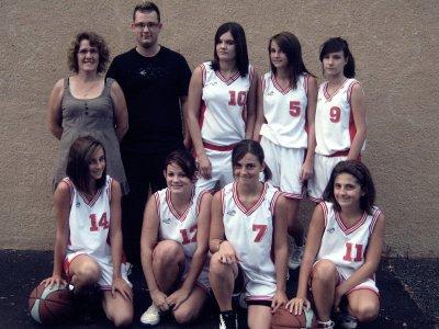 Basketeuse, depuis toujours !