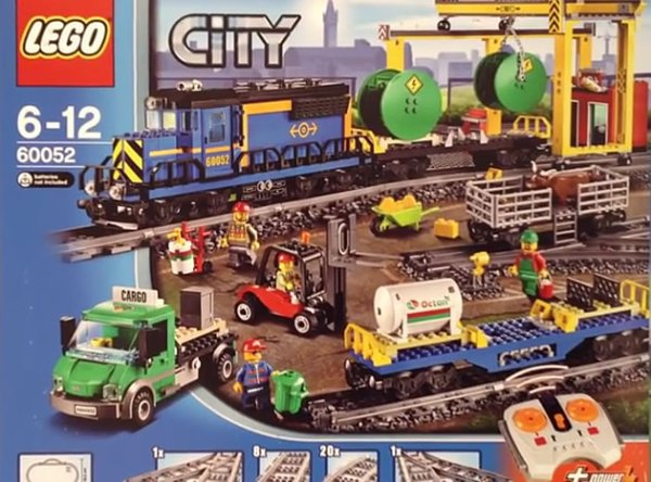 Nouveau Train Lego City 2014