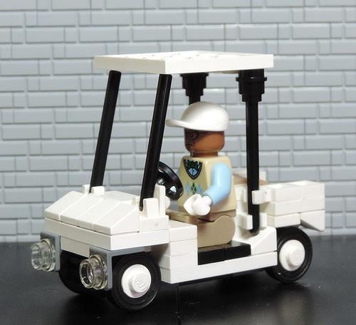 Voiture De Golf Lego