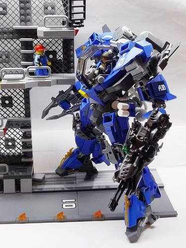 Robot Geant Lego
