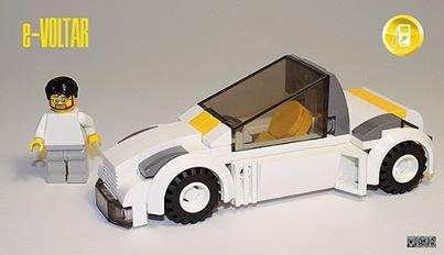 Voiture Du Futur Lego