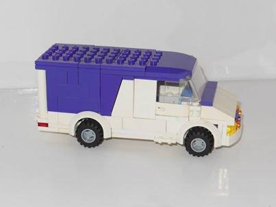 Camionnnette Lego