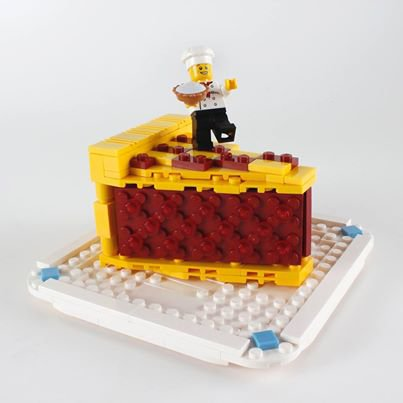Part A Gateau Lego