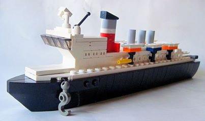 Mini Bateau Lego