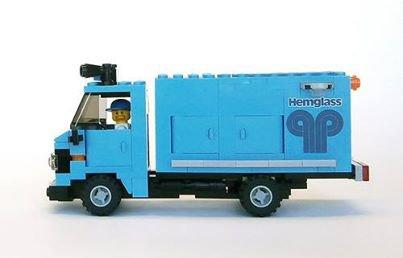 Camionnette Lego