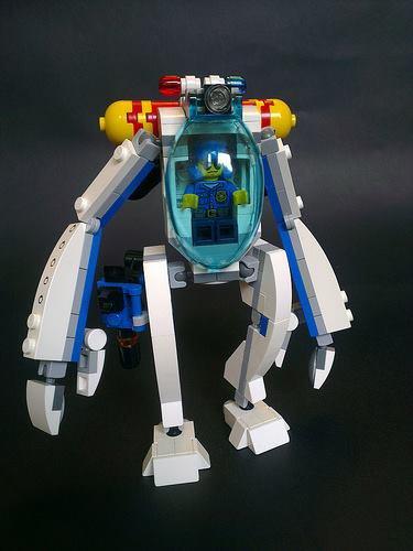 Robot De La Police Du Futur Lego