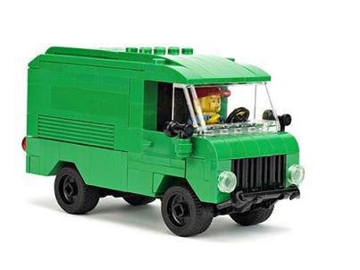 Camionnette Vert Lego