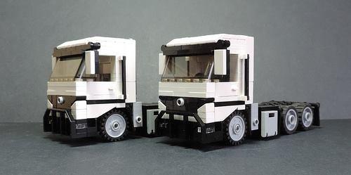 Camion Blanc Lego