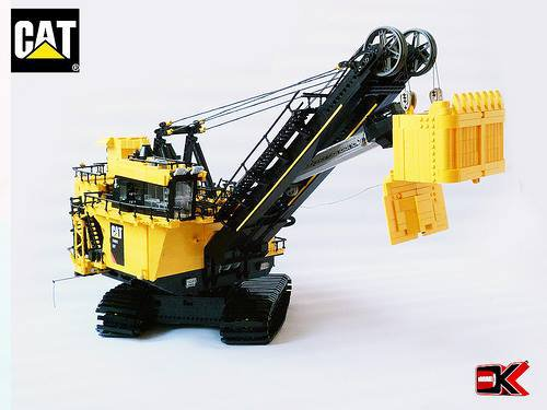 Grosse Pelleteuse De Mine Lego