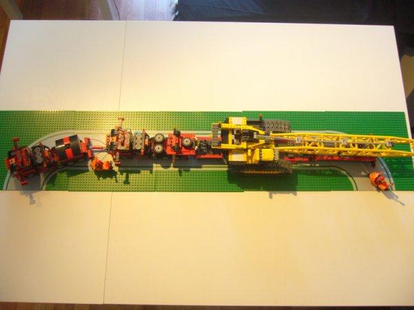 Convoi De l'Extreme Lego