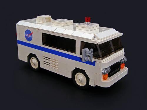 Camionnette De La Nasa Lego