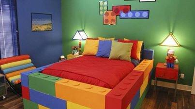 Chambre 100 % Lego