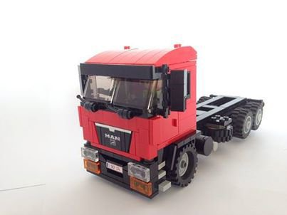 Camion Rouge Lego
