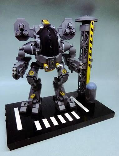 Géant Robot Lego