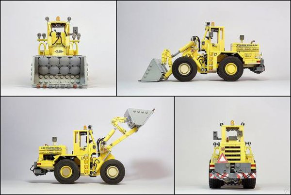Auto-Chargeuse Lego