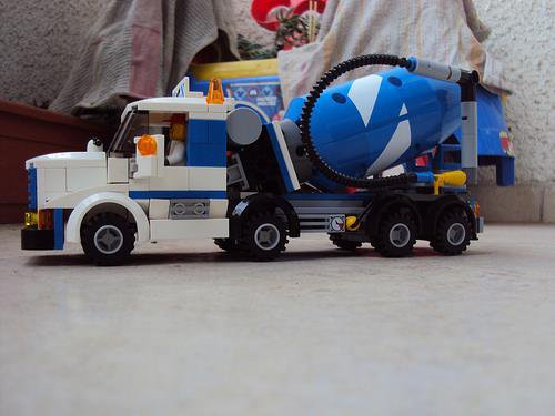 Camion a Ciment Lego
