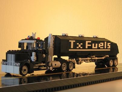Camion Fuel Lego