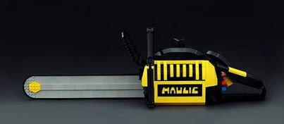 Tronçonneuse Lego