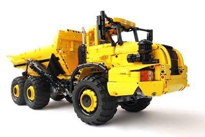 Camion De Chantier En Lego
