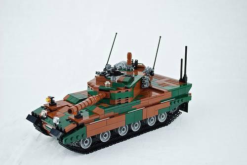 Tank En Lego