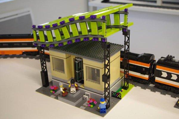Gare Pour Train Lego