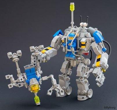 Voici Deux Robot Lego