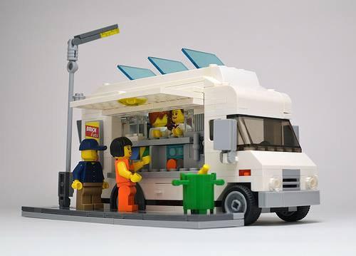 Camion Skank En Lego
