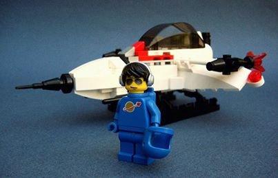 Avion De Chasse Lego