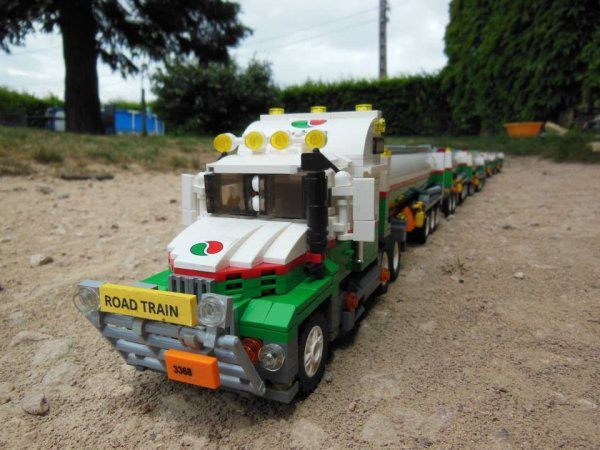 Grand Camion Citerne Lego
