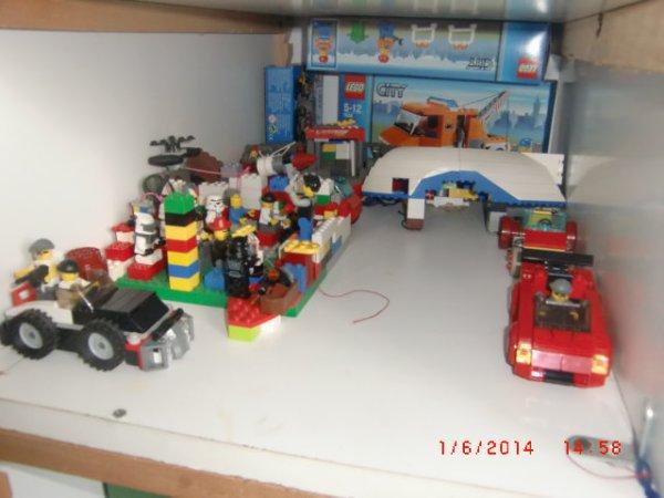 Ma Basse Des Méchants Lego