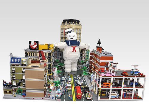 Bonhomme Michelin Lego